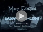 DADDY LONG LEGS starring MARY PICKFORD