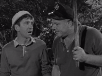 Skipper questions Gilligan