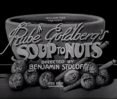 SOUP TO NUTS title card